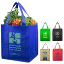 Custom 80Gsm Non-Woven Super Mega Grocery Shopping Tote Bag, 14 1/2