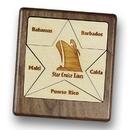 Star Wood 6 Piece Jigsaw Puzzle