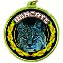 Custom TM Medal Series w/ Bobcats Scholastic Mascot Mylar Insert