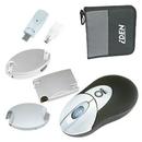 Custom USB-Powered Wireless Optical Mouse Set
