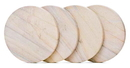 Custom Sandstone Coasters Set of 4 (Natural Radiant)