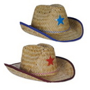 Custom Child Cowboy Hat w/ Plastic Star & Chin Strap
