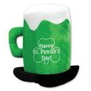 Custom Plush St. Patrick's Day Beer Mug Hat