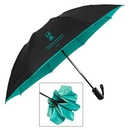 Custom The Color Flip Inverted Folding Umbrella - Auto-Open, Reverse Auto-Closing, 46