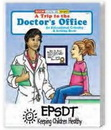 Custom A Trip to the Doctor's Office Coloring Book