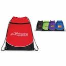 Custom POCKET DRAWSTRING BACKPACK, Sports Pack, Drawstring Bag, Drawstring Backpack, 15