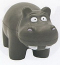 Custom Hippo Stress Reliever Squeeze Toy