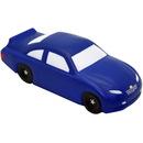 Custom Blue Stock Car Squeezies Stress Reliever