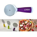 Custom Plastic Handle Pizza Cutter, 7 1/5
