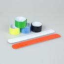 Custom Reflective Safety Slap Bracelet, 8 3/5