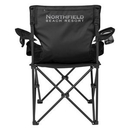 Custom Deluxe Padded Folding Chair With Carrying Bag, 33 1/2