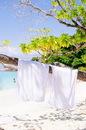 Custom Terry Velour Hemmed Beach Towel - White (8-1/2 Lbs. / Dozen)