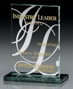Custom Large Verde Quatra Award