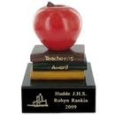 Custom Teacher's Award Scholastic Resin Trophy w/Engraving Plate