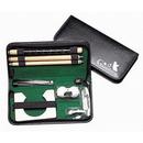 Custom Executive Travel Indoor Golf Wooden Club Putter Kit