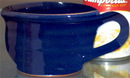 Custom Liberty Soup Mug. 12 oz. Minimum of 20. Heritage Blue.