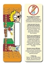 Custom Stock Full Color Digital Printed Bookmark - Dealing W/ Bullies