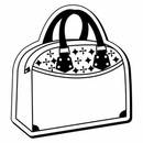 Custom Purse Notekeeper Magnet- 20 Mil Process Color (3-1/8