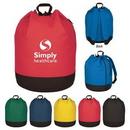 Custom Bucket Bag Drawstring Backpack, 17
