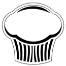 Custom Muffin Notekeeper Magnet- 35 Mil Process Color (3