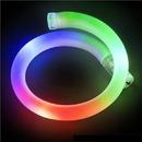 Custom 8'' Rainbow LED Flashing Tube Bracelet