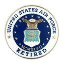Custom Military - U.S. Air Force Retired Pin, 1