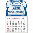 Custom Telephone Kwik-Stik Textured Vinyl Calendar - 13 Month (3