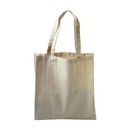 Custom Canvas Shopper with Canvas Handles, 14
