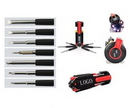 Custom 8 In 1 Multi Portable Screwdriver Set With 6 LED Light, 5
