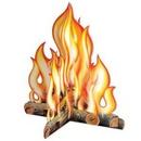 Custom 3-D Campfire Centerpiece, 12