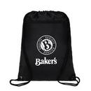 Custom Durable 420D Polyester Drawstring Bags Cinch Sack Backpack, 13.5