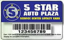 Deluxe Loyalty Cards - .030
