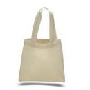 Custom Mini Tote Bag - Cotton, 6