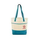 Custom Mesh Bottom Beach Tote Bag, 13
