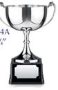 Custom Endurance Trophy Award w/ Heavy Cast Pattern Handle / 4 3/4