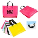 Custom Plastic Grocery Tote Bag, 13