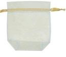 Custom Sheer Organza Bag, 4 1/2