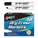 Custom 12 Pack Dry Erase Markers - Black - Usa Made