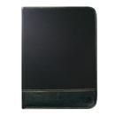 Custom B-8121 Leatherette Writing Folder, 600D w/Simulated Leather
