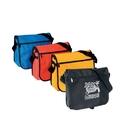 Custom B-8305 Messenger Bag with 3-Pocket Main Compartment, Exterior Front Pocket, Adjustable/Detachable Shoulder Strap
