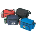 B-8526 6 Pack Cooler Bag, Front Pocket with One Mesh and One Cellphone Pocket On The Side