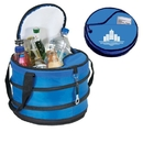 Custom B-8537 Collapsible Picnic Cooler, 600D Polyester /Nylon