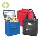 Custom B-8542 Non-Woven Cooler Tote Bag 100Gm Non-Woven Polypropylene Foil Lining