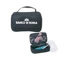 Custom B-8701 Handdle Travel Kit, 600D Polyester w/Heavy Vinyl Backing
