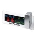 Custom CY-1116 Desktop Clock and Weather Forecast Station