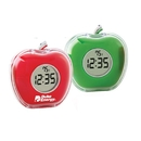 Custom CY-1119 Talking Novelty Apple Alarm Clock