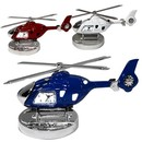 Custom CY-1161 Helicopter Clock Made of Die Cast Metal Housing.Moveable Propeller Blades