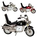 Custom CY-1162 Motorbike Novelty Clock Made of Die Cast Metal Housing