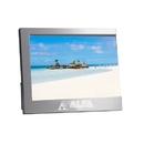 "Custom FM-8001 "", C"", Design For Corproate Initial Metal Photo Frame In Brushed Aluminum Finish"