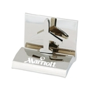 Custom HY-6007AR Chrome Business Card Holder, Styles: Airplane